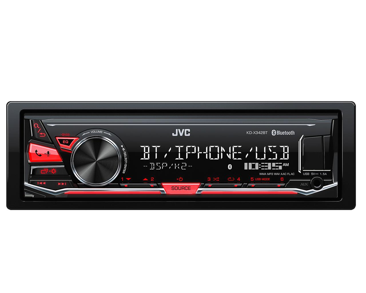 Receptor digital JVC con bluetooth